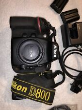 Nikon D800 36.3MP Digital SLR Camera - Black (Body Only)