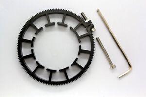 follow focus gears for dslr lens 70-80mm diameter for canon nikon zeiss sigma