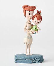 Disney Traditions Beautiful Bond (Wilma & Pebbles) Flintstones NEW 27468