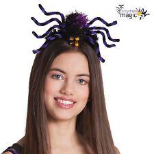 Halloween Furry Spider Tarantula Bug Fancy Dress Costume Headband Headdress Hat