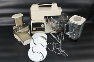 Oster Regency Kitchen Center 971-06A 12 Speed Mixer With Attachments & More
