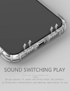 Shockproof Silicone Bumper Phone Case Clear Soft Cover For iPhone/ Samsung S8&9