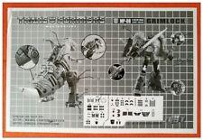 DETAILS STICKER SET FOR MP08 Grimlock NEW Not Including Transformers Figure