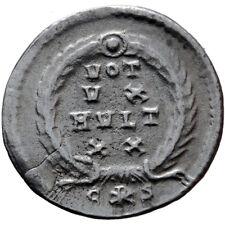 SCARCE-ROMAN SILVER SILIQUA COIN VALENS 364-378 AD CONSTANTINOPLE VOT XV MVLT XX