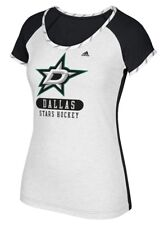 "Dallas Stars Women's Adidas NHL ""Skates"" Dual Blend Premium T-shirt"