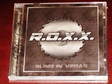 R.O.X.X.: Blind In Vegas 2 CD Set 2014 Stormspell Records USA SSR-DOS128 NEW