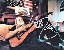 Willie Nelson Beautiful Photo at Home Autograph Reprint