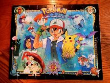 MB Pokemon Ash and Pikachu 60 Piece Jigsaw Puzzle Guaranteed Complete 1999