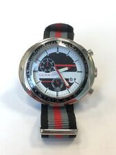 Sears automatic watch tachymeter scale daydate NOS-Style unworn XXL case NATO