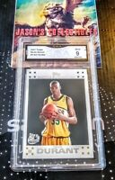 2007-08 Topps KEVIN DURANT Rookie RC #2 White **GMA 9**MINT** Nets  ~INVEST~