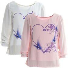 Markenlose-T-Shirts & -Tops für Mädchen mit Blumenmuster