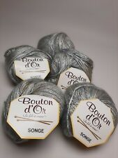 Bouton d'Or Songe Yarn Mohair Viscose Blend Fng Wt Machine Wash LL
