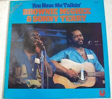 BLUES BROWNIE MC GHEE et SONNY TERRY You hear me talkin WEA 900361