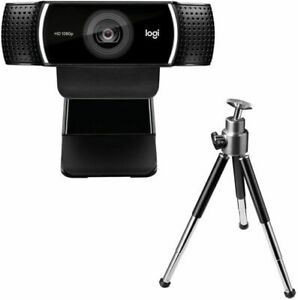 Logitech C922 Pro Stream Webcam + Tripod