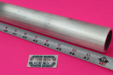 """1 inch Pipe 1.315/"""" OD x .133/"""" Wall 6061 T6 ALUMINUM Round Tube 12/"""" long"""