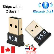 Bluetooth CSR 5.0 Dongle Adapter USB Bluetooth Receiver for Desktop, Laptop