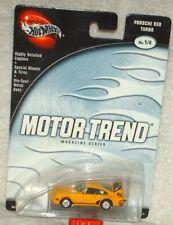 Hot Wheels 2003 Preferred Motor Trend Magazine Series Porsche 930 Turbo yellow