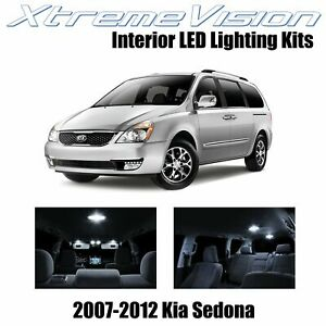 XtremeVision Interior LED for Kia Sedona 2007-2012 (11 PCS) Pure White