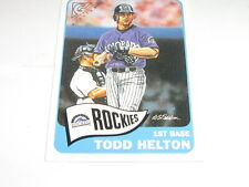 2001 Topps Gallery Heritage Todd Helton