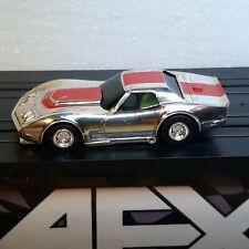 AFX Chevy Chevrolet Corvette Slot Car Body Chrome Aurora Autoworld JL G+ SG+