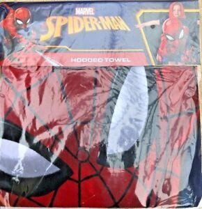 Spiderman Hooded Towel by Marvel.