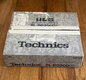 Vintage Technics SL-BD20D DC Servo Automatic Turntable System / Record Player