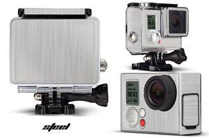 Skin Stickers for GoPro Hero 3+ Camera & Case Decal HERO3+ Go Pro STEEL