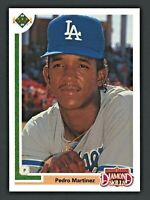 1991 Upper Deck Final Edition #2F Pedro Martinez Rookie RC DODGERS, RED SOX MINT