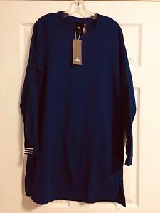 Adidas sport dress size L color blue