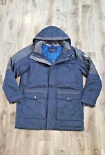 NEW Lands End GOOSE DOWN SQUALL XXL 2XL  STADIUM NAVY Parka COAT