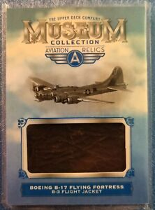 2018 UD Goodwin Champions Museum Collection Aviation Relics B-17 Flying Fortress