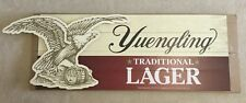 "Yuengling Traditional Lager Eagle Wooden Beer Sign 52x18"" Brand New In Box RARE!"