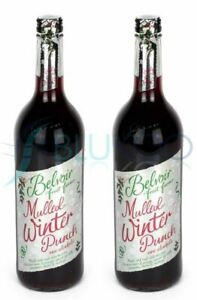 Belvoir Mulled Winter Punch - 750ml (Pack of 2)