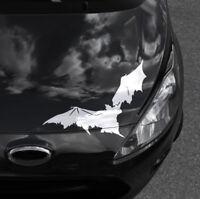 Auto Aufkleber Fledermausaufkleber Fledermaus Gothicaufkleber Darkmetal Sticker