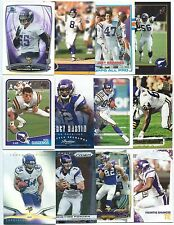 Lot of 100 Different Minnesota Vikings Cards; 1988-2014; NM-Mint