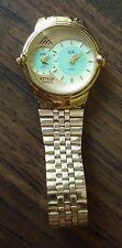 Vintage Two Times Zone Meteor Quartz Glow  Watch
