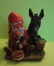 Enesco Sandman Eating with Suzanne Donkey #353884 Klaus Wickl 1994 Vintage Box