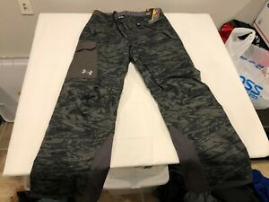 NWT $160.00 Under Armour Mens CG Storm Navigate Insulated Pants Black Camo LARGE