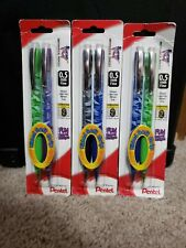 NEW Pentel ICY Mechanical Pencil, 0.5 mm Fine with Ribbed Soft Grip, 2 ea FS