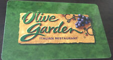 OLIVE GARDEN RESTAURANT Limited Ed COLLECTIBLE Gift Card No Value rechargeable
