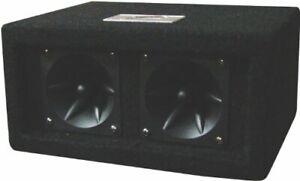 """Audiopipe Z20C Zebra 2 4"""" Piezo Tweeters In Tweeter Box 100 Watts Max"""