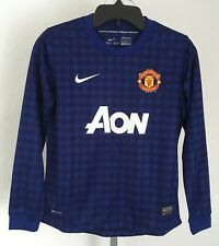 59c737e7ac2 Manchester United 2012/13 L/s Away Goalkeepers Jersey by Nike Size Medium  Boys