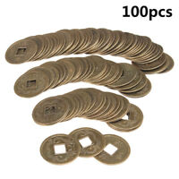 100X Feng Shui Suerte Dinero Monedas emperador Fortuna Riqueza dinastía china