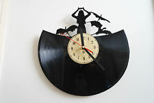 Game of Thrones (Mother of Dragons) vinyl record wall clock bedroom playroom hom