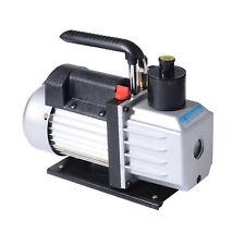 Homcom 5cfm 1/2hp Vacuum Pump Dual Stage Rotary Vane Deep Air Tool Black