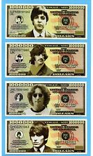 THE BEATLES NOVELTY MONEY