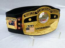 Domed Globe NWA World Heavyweight Wrestling Championship Belt