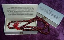 FairTrade Boxed Mala PRAYER BEADS Necklace BUDDHIST ROSARY MEDITATION Malla Bead