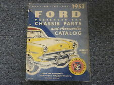1949 1950 1951 1952 1953 Ford Country Squire Crestliner Parts Catalog Manual