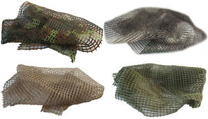 Tank military vehicle model diorama accessories camouflage net 5 sizes 4 colors
